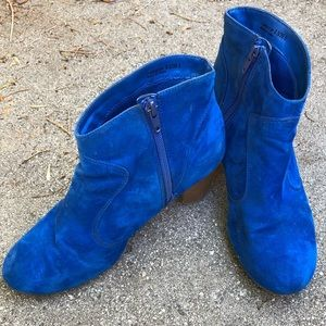 Chinese Laundry Royal Blue Bootie